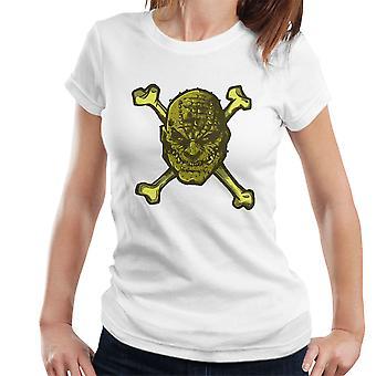 Croc knogler superskurken kvinders T-Shirt