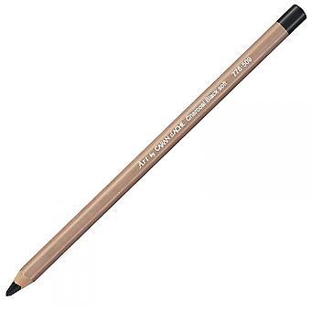 Caran D'Ache houtskool potlood Soft Zwart