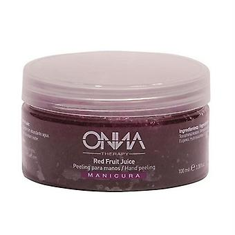 Onna Therapy Hand Peeling Red fruit Juice 100 Ml