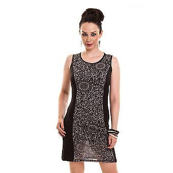 INNOCENT - LEO DRESS - Top Womens jurk - zwart
