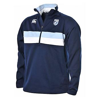 CCC Cardiff 1/4 zip stretch training jacket [navy]