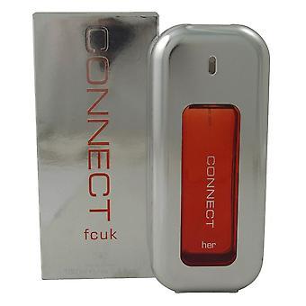 FCUK Connect Her 100ml Eau de Toilette Spray for Women