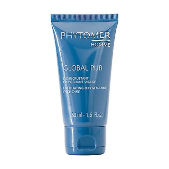 Homme de Phytomer Global Pur gommage oxygénant soin visage 50ml