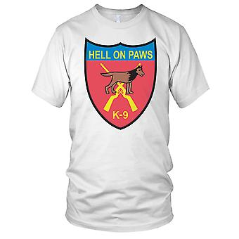 Hell On Paws K-9 Clean Effect Kids T Shirt