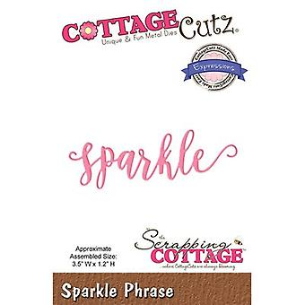 CottageCutz Expressions Plus Die-Sparkle 3.5