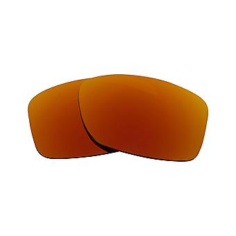 JUPITER CARBON Replacement Lenses Bronze Brown & Ruby Red by SEEK fits OAKLEY