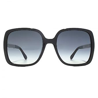 Jimmy Choo Chari Sunglasses In Black