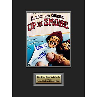 Cheech & Chong: Up In Smoke - Signed by Cheech Marin and Tommy Chong- Framed Artist Series