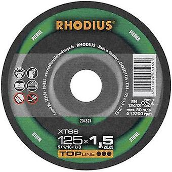 Cutting disc XT66 Rhodius 204625 Diameter 115 mm