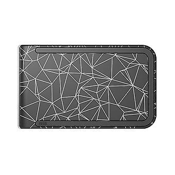 Dosh Luxe Print Wallet - Constellation Black