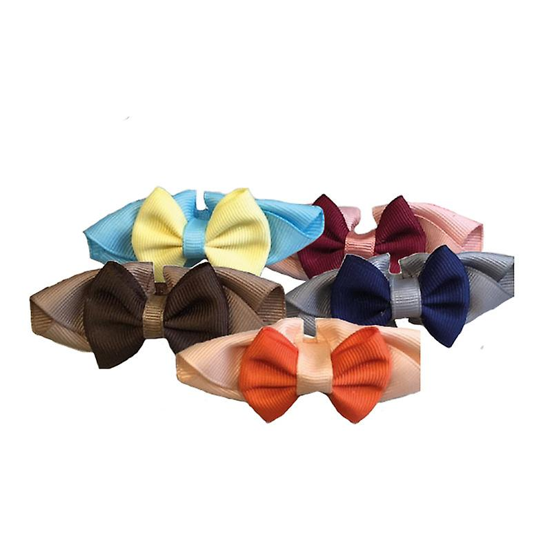 Groom Professional Handsome Bow Collar 10 Pack