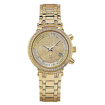 Joe Rodeo diamond ladies watch - MASTER LADY gold 0.9 ctw