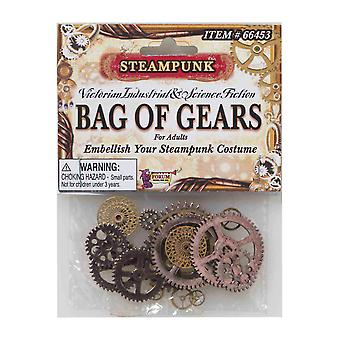 Steampunk Science Fiction Mens Women Decor Craft Jewelry Costume Bag of Gears