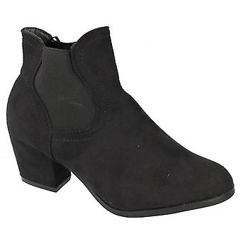 Anne Michelle Womens/Ladies High Heel Ankle Boots