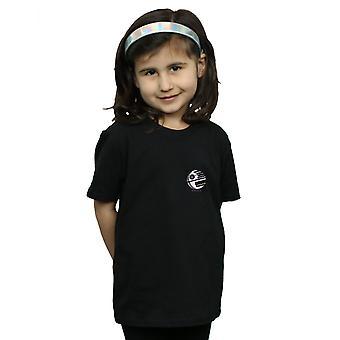 Star Wars filles Death Star poitrine impression T-Shirt