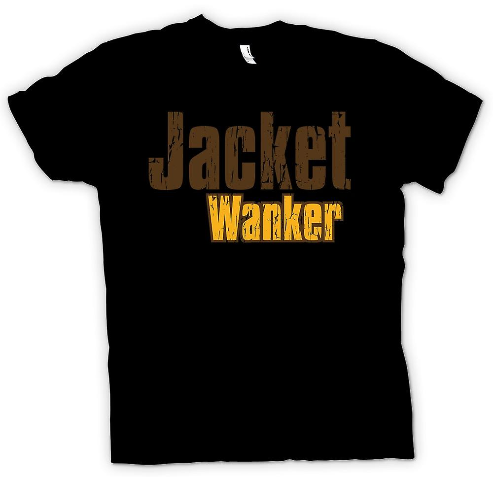 Mens T-shirt - Jacket Wanker