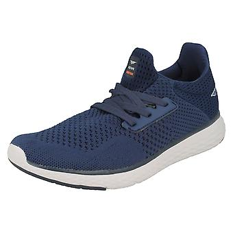 Mens Redtape Casual Trainers RSC0074 - Navy Textile - UK Size 7 - EU Size 41 - US Size 8