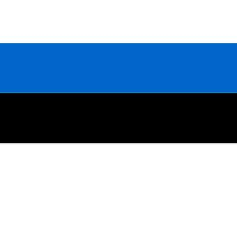Estonia Flag 5ft x 3ft With Eyelets For Hanging