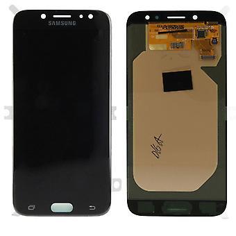 Skjerm LCD komplett sett GH97 20736A svart for Samsung Galaxy J7 J730F 2017