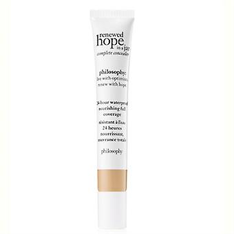 Philosophy Renewed Hope In A Jar Complete Concealer 3.5 Sand 0.34oz / 10ml