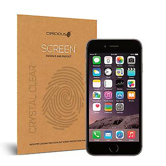 Celicious Vivid Invisible Glossy HD Screen Protector Film Compatible with Apple iPhone 6 [Pack of 2]