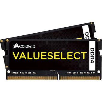 Kit de portátil RAM Corsair ValueSelect CMSO8GX4M2A2133C15 8 GB 2 x 4 GB DDR4 RAM 2133 MHz CL15-15-15-36