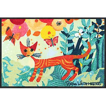 Rosina Wachtmeister doormat UN giro in giro washable dirt mat