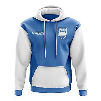 Altajs konseptet landet fotball Hoody (blå)