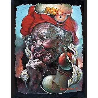 Lueur Despoir Poster Kunstdruck von Lyonel Laurenceau (18 x 14)