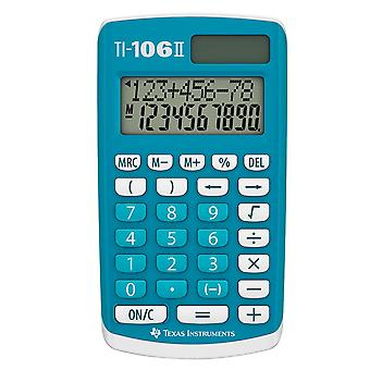 Texas Instruments TI106II Solar/Battery Extra-Large Digits Pocket Calculator
