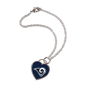Wincraft ladies 3D heart bracelet - NFL Los Angeles Rams