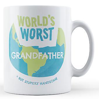 Verdens verste bestefar - trykte krus
