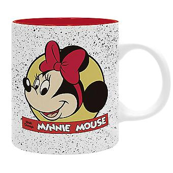 Disney Cup Minnie classic white/red, printed ceramic, 320 ml., in gift box.