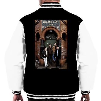 The Smiths At Salfords Lads Club Colour 1985 Men's Varsity Jacket