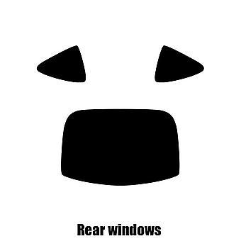 Pre cut window tint - Subaru BRZ - 2012 to 2016 - Rear windows