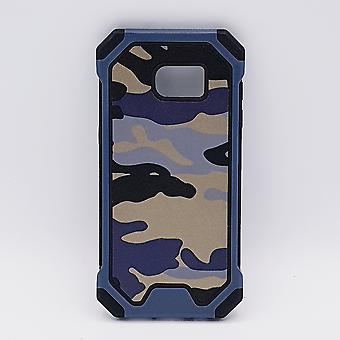 For Samsung S7 case-Camouflage blue