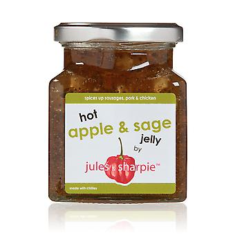 Jules and Sharpie Hot Apple & Sage Jelly