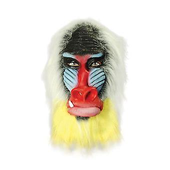 Máscara de babuino.