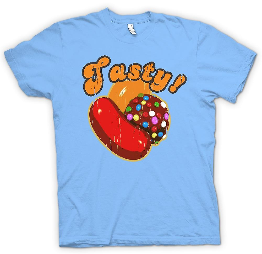 Mens T-shirt-lekker - Candy Crush geïnspireerd Gamer