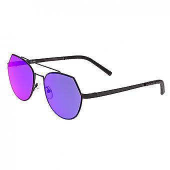 Bertha Hadley Sunglasses - Black/Purple-Pink