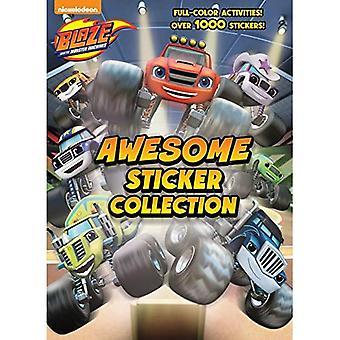 Bläs och Monster maskiner Awesome klistermärke samlingen (bläs och monstermaskiner)