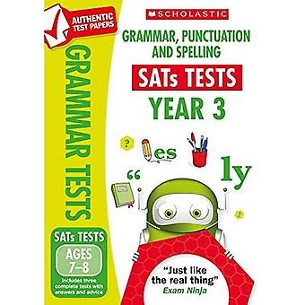 Grammar, Punctuation and Spelling Test - Year 3 (National Curriculum SATs Tests)