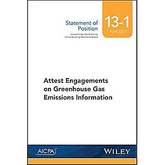 Sop 13-1 Attest Engagements� on Greenhouse Gas Emissions Information