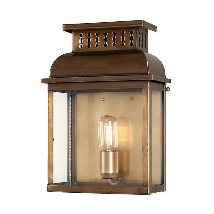 Westminster Wall Lantern Brass - Elstead Lighting