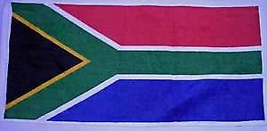 South Africa Flag Cotton Bar Towel