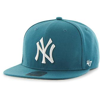 47 fire Snapback Cap - no. SHOT New York Yankees dark teal