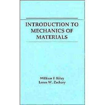 Einführung in die Mechanik der Materialien von Riley & William F.