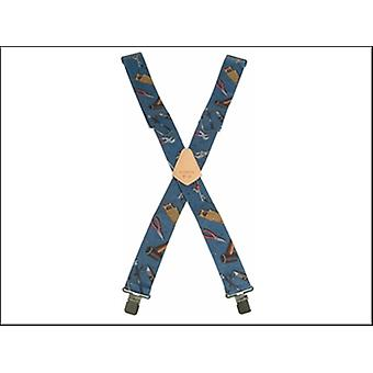 Kuny's SP-15HTPL Blue Hand Tool Braces 2 in Wide