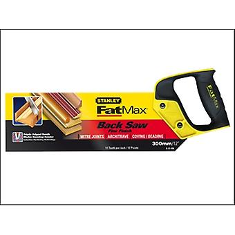 Stanley Tools FatMax Tenon Back Saw 300mm (12in) 11tpi