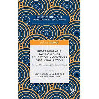 Omdefiniera Asia Pacific högre utbildning i sammanhang av globalisering privata marknader och allmänintresset av Collins & Christopher S.